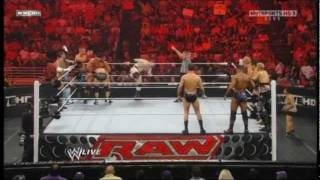getlinkyoutube.com-Raw Supershow 12 Man Tag Team (Team Cena vs Team Del Rio)