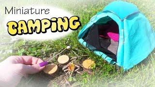 getlinkyoutube.com-Miniature Camping; Tent & Campfire Tutorial // Dolls/Dollhouse