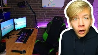 getlinkyoutube.com-MIJN GAMING SET-UP TOUR! ~ TiesGames