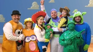 getlinkyoutube.com-TOY STORY HALLOWEEN SPECIAL - Daily Bumps Halloween Special 2015
