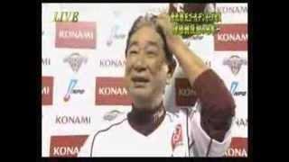 getlinkyoutube.com-2013 11 3 日本シリーズ 第七戦 楽天 × 巨人 星野監督 優勝後インタビュー