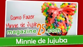 getlinkyoutube.com-Como Fazer Minnie de Jujuba