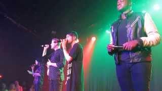 Pentatonix at The Roxy 10/21 - Hark the Herald Angels Sing