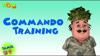 getlinkyoutube.com-Commando Training - Motu Patlu in Hindi