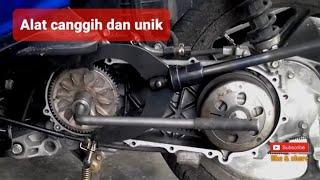 getlinkyoutube.com-alat untuk mengganti v. belt