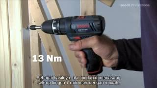 Bosch impact drill tanpa kabel/Driver - GSB 10,8-2-LI Professional