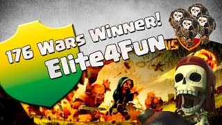 getlinkyoutube.com-CLASH OF CLANS - Comentando Guerras - Elite4Fun part. Nery