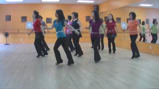 getlinkyoutube.com-Woman In Love - Line Dance (Dance & Teach in English & 中文)