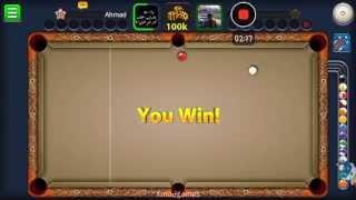 getlinkyoutube.com-طريقه سهله للفوز ب مئة الف في لعبه 8ball pool