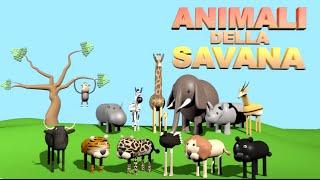 getlinkyoutube.com-Animali della Savana - AlexKidsTV