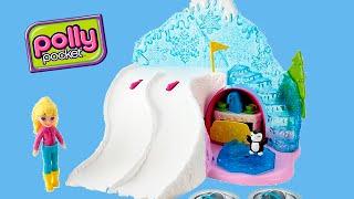 getlinkyoutube.com-Boneca Polly Absolutamente Ártico Playset Mattel