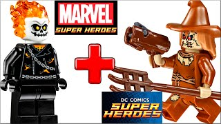 getlinkyoutube.com-LEGO Super Heroes новинки 2 полугодия 2016 года. Новый Человек-паук и Лего призрачный гонщик