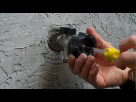 Mansfield Style Hydrant Repair Video- Leaking Behind the Handle