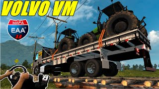 getlinkyoutube.com-VOLVO VM -  MAPA BRASILEIRO EAA 3.0,  JOGANDO COM VOLANTE G27!!!!