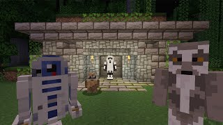 getlinkyoutube.com-Minecraft Xbox Lets Play - Survival Madness Adventures - Star Wars The Out Post [169]