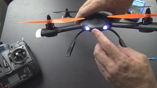 getlinkyoutube.com-HiSky HMX 280 Unboxing and First Flight! (from Banggood.com)