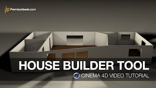 getlinkyoutube.com-Cinema 4D Video Tutorial: House Builder Tool