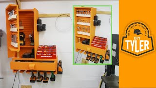 getlinkyoutube.com-French Cleat Drills / Bits / Charging Station