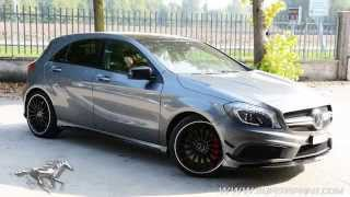 getlinkyoutube.com-Mercedes A45 AMG sound with Supersprint full exhaust