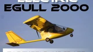 getlinkyoutube.com-e Gull 2000, Earthstar Aircraft's eGull 2000 battery powered ultralight aircraft.