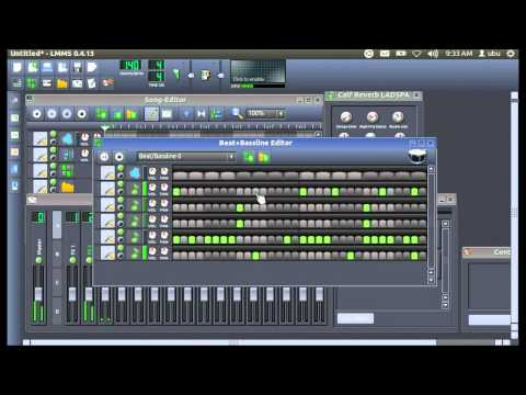 LMMS Dubstep beat tutorial part1