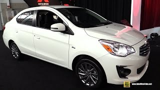 getlinkyoutube.com-2017 Mitsubishi Mirage G4 - Exterior and Interior Walkaround - Debut at 2016 New York Auto Show