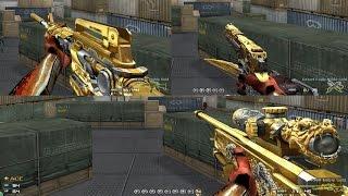 getlinkyoutube.com-Pon Lee : ☆ Test Noble Gold ( M4A1 , D.E , AWM Vip  CFVN 2.0 ) ☆