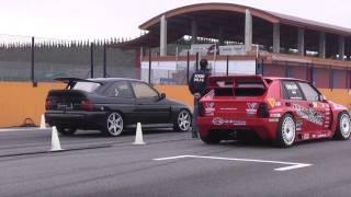 getlinkyoutube.com-Oppliger Motorsport escort cosworth 617bhp vs lancia delta Errani erre 20