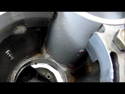 Galant vr-4 6А13 Вставляем гильзы с жидким азотом... 2