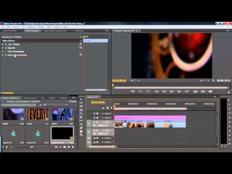 How to Use Adjustment Layers in Premiere Pro CS6 Tutorial