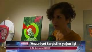 Fethi Toker Güzel Sanatlar ve Tasarım Fakültesi Resim Bölümü 'Mezuniyet Sergisi' düzenledi