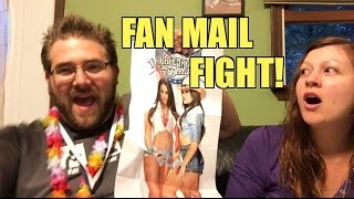 getlinkyoutube.com-WIFE MAD about BELLA TWINS POSTER?? Grim OPENS Awesome WWE Figure Fan Mail!