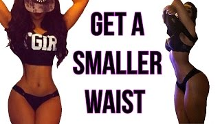 getlinkyoutube.com-How To Get A Small Waist | 4 Workouts That Gives You A TINY Waist!