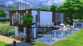 getlinkyoutube.com-The Sims 4 - House Building - HoliSpa Modern SQ