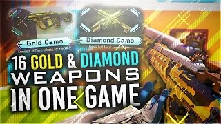 "getlinkyoutube.com-16 GOLD GUNS IN ONE MATCH! UNLOCKING ""DARK MATTER"" CAMO GUNS (Black Ops 3 DARK MATTER CAMO)"
