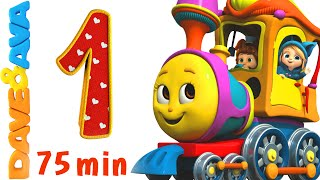 getlinkyoutube.com-Numbers Song Collection | Number Train 1 to 10 | Counting Songs and Numbers Songs from Dave and Ava