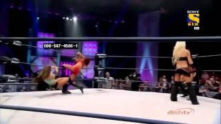 getlinkyoutube.com-Madison Rayne vs Angelina Love vs Brooke vs Gail Kim vs Taryn Terrell Ladder Match