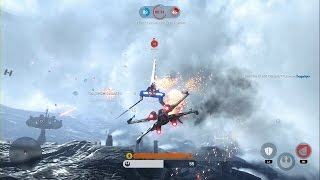 getlinkyoutube.com-Star Wars Battlefront - Fighter Squadron Gameplay PS4 (No Commentary)