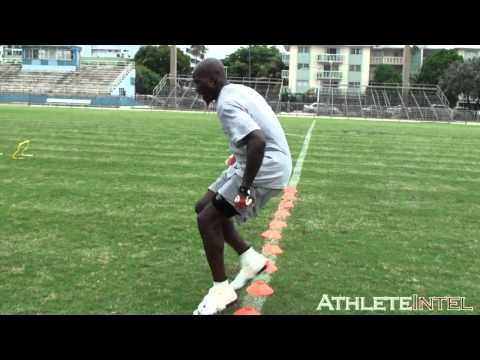 Chad Ochocinco footwork drills - AthleteIntel