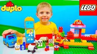 getlinkyoutube.com-Лего Ферма и Даник | Развивающее видео для детей с конструктором Lego Duplo Learn about Farm