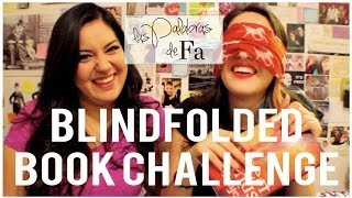 getlinkyoutube.com-Reto sin ver (Blindfolded book challenge) | LasPalabrasDeFa
