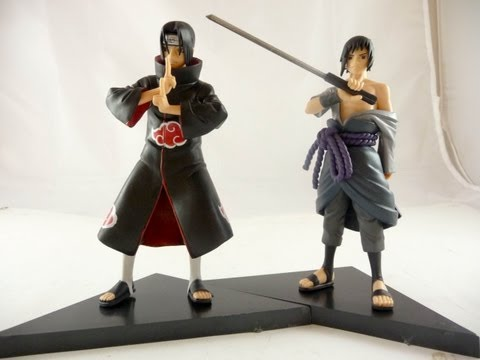 naruto figure figures set Uchiha Sasuke Itachi JUMP 2 PCS LIMITED EDITION HOT x 19-5-13