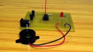 getlinkyoutube.com-Interruptor de toque com NE555/Touch switch with NE555