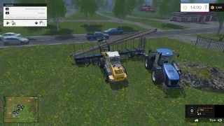 getlinkyoutube.com-Farming Simulator 2015 #34 Vendendo Madeira