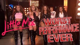 getlinkyoutube.com-Little Mix - Worst Performance Ever - Shout Out To My Ex - SHREDS
