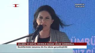 Bakan Sarıeroğlu: Emeklilerimizin tamamına bin lira ödeme gerçekleştirildi