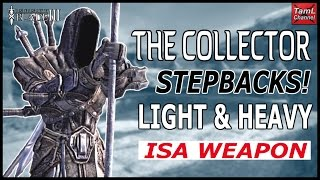 Infinity Blade 3: HOW TO CRACK THE COLLECTOR'S LIGHT & HEAVY ISA WEAPON STEPBACKS (Dual Guide)