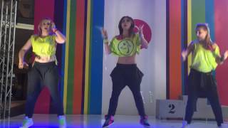 getlinkyoutube.com-Zumba Energy Team - The bruk out song RDX - pokaz