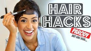 WORLD'S BEST HAIR HACKS! width=
