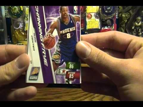 Opening 12 packs of 2010 / 2011 NBA Adrenalyn XL Basketball Cards